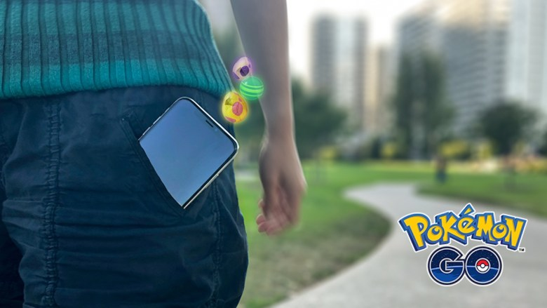 Pokémon GO Adventure Sync Screenshot