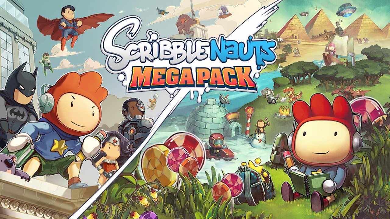 Scribblenauts Mega Pack Review Header