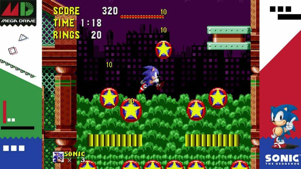 SEGA AGES Sonic The Hedgehog Review – Switch – Nintendo Insider