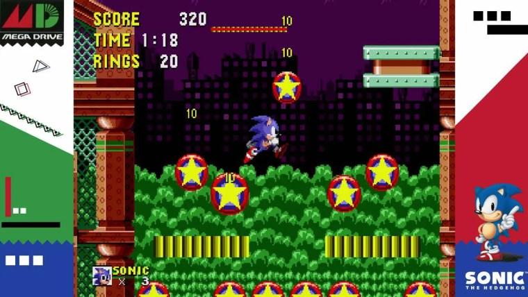 SEGA AGES Sonic The Hedgehog Review Screenshot 2
