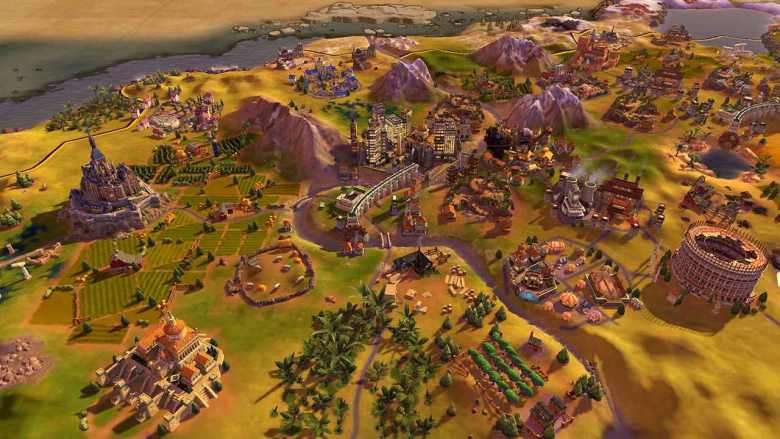 Civilization 6 Switch Screenshot
