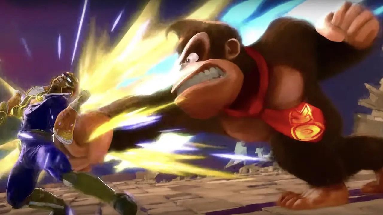 Donkey Kong Super Smash Bros. Ultimate Art