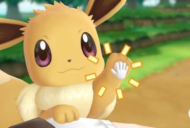High Five Pokémon Let's Go, Eevee! Screenshot