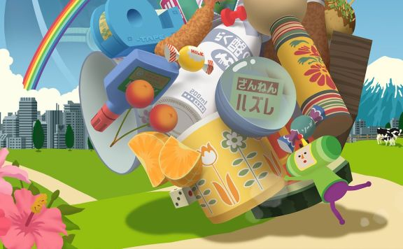 Katamari Damacy Reroll Review Header