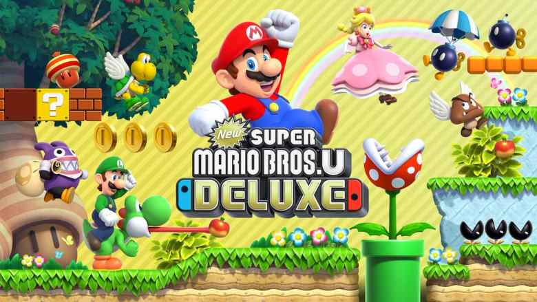 New Super Mario Bros. U Deluxe Key Art