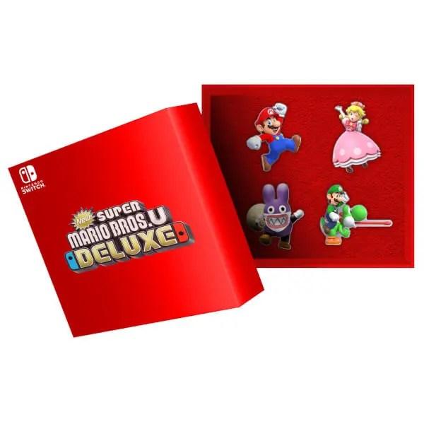 New Super Mario Bros  U Deluxe Pre-Order Bonuses Hit
