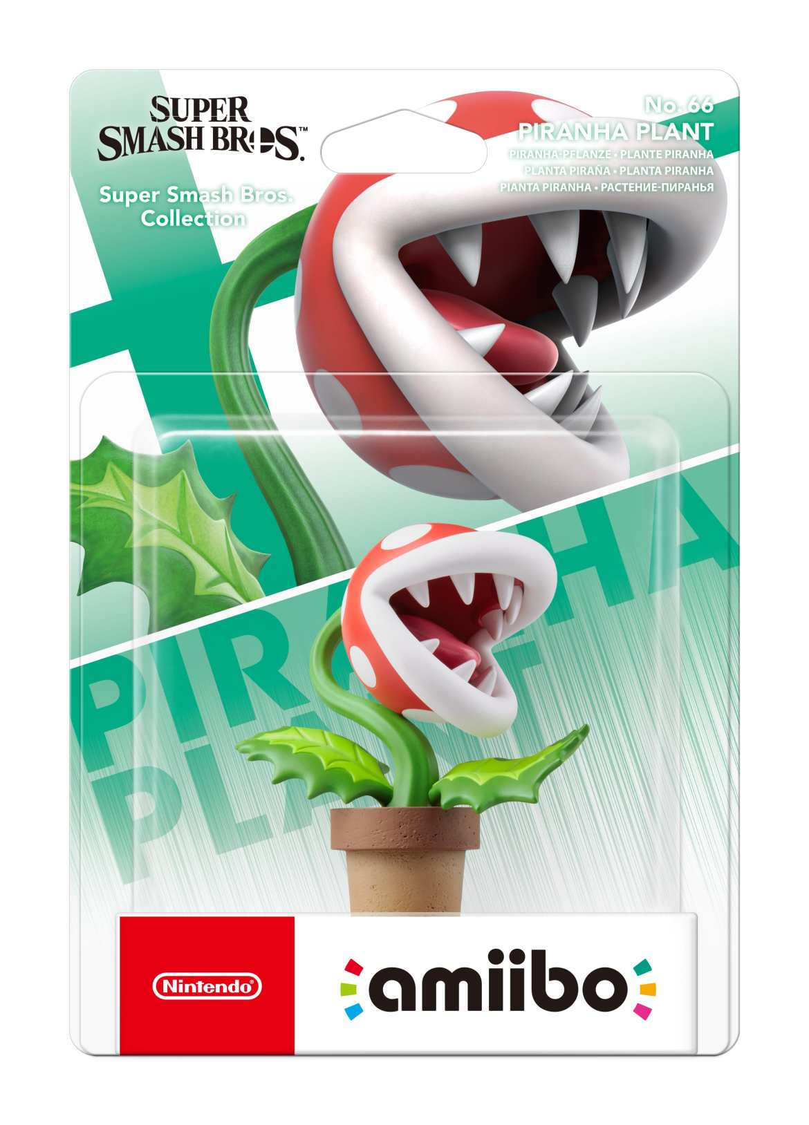 Piranha Plant amiibo Box Art