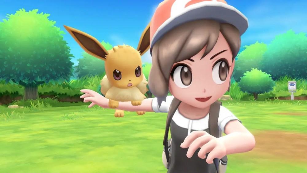 Pokémon Let's Go Eevee! Review Screenshot 1