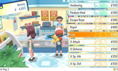 Pokémon Let's Go Lure Screenshot