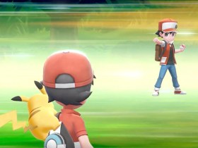 Pokémon Let's Go Red Screenshot