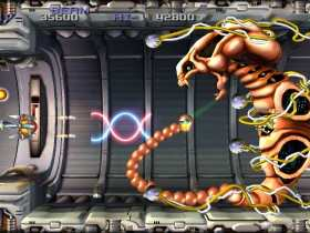 R-Type Dimensions EX Screenshot