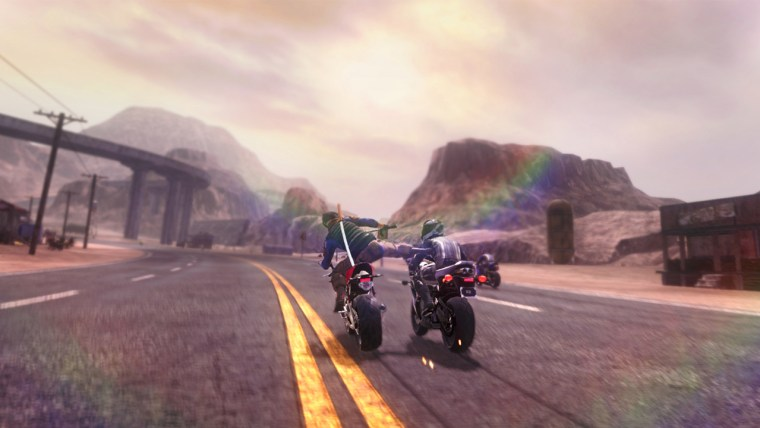 Road Redemption Review Screenshot 1