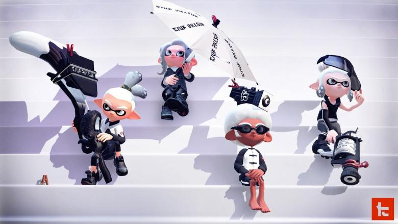 Splatoon 2 Kensa Collection Screenshot