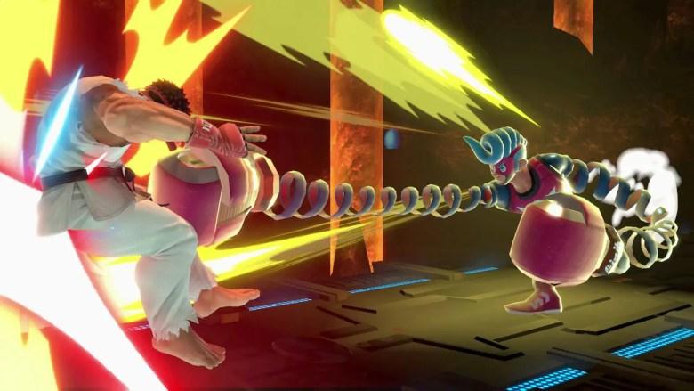 Spring Man Super Smash Bros. Ultimate Screenshot