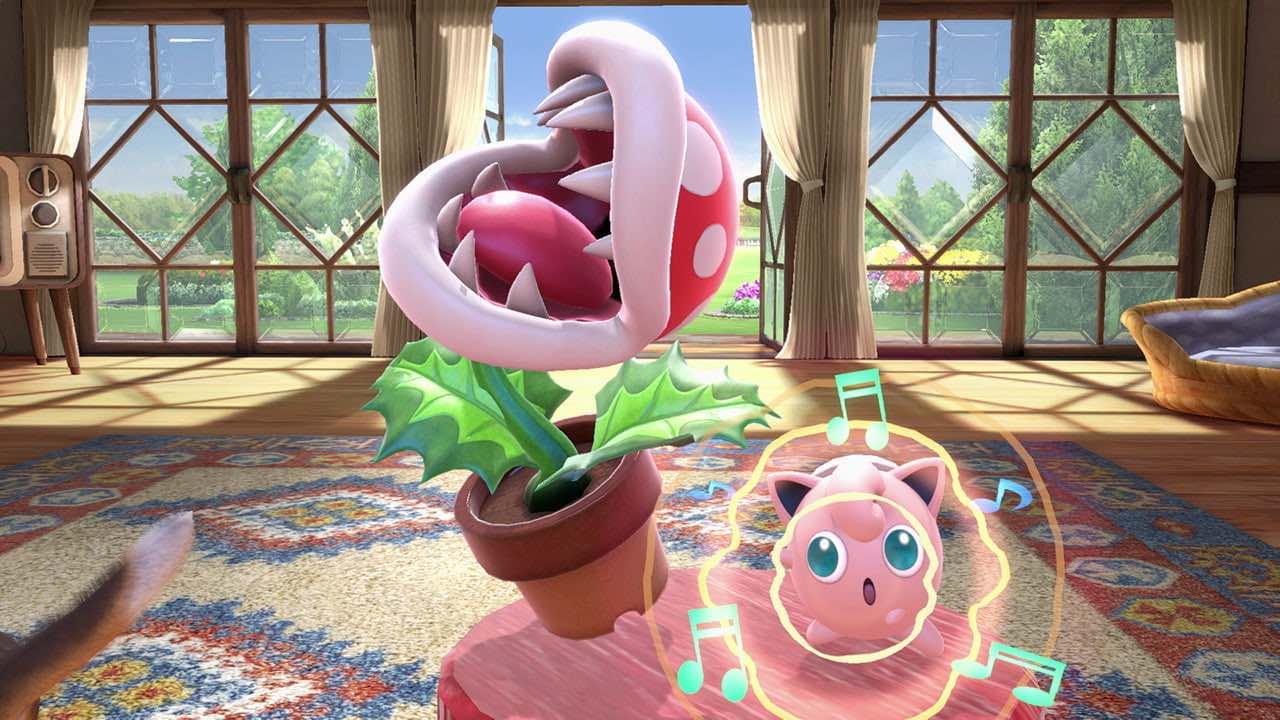 Super Smash Bros. Ultimate Piranha Plant Screenshot