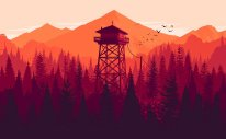 Firewatch Key Art