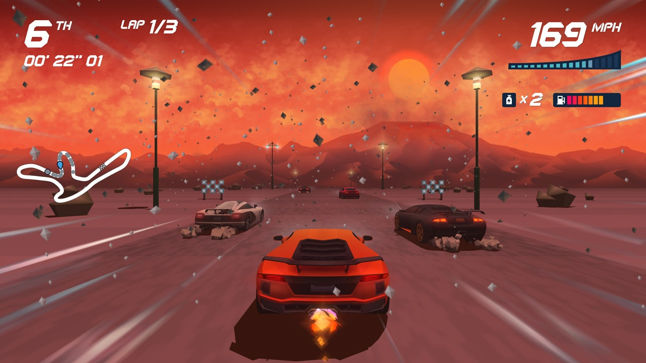 Horizon Chase Turbo Review Screenshot 1