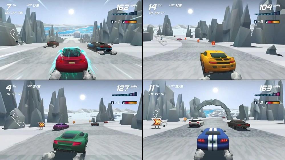 Horizon Chase Turbo Review Screenshot 2