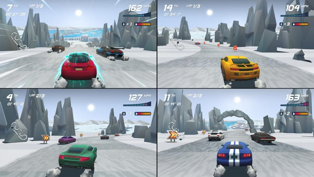 Horizon Chase Turbo Review Screenshot 2