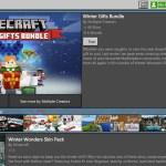 Minecraft Winter Gifts Bundle Screenshot