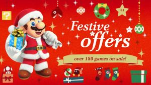 Nintendo eShop Festive Offers Sale Image