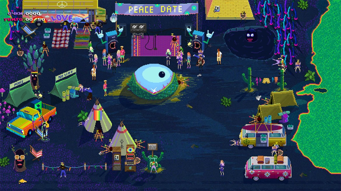 Party Hard Review Screenshot 1