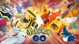Pokémon GO Trainer Battles Key Art
