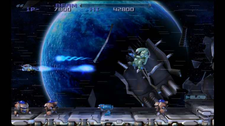 R-Type Dimensions EX Review Screenshot 1