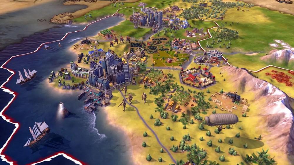 Sid Meier's Civilization VI Review Screenshot 2
