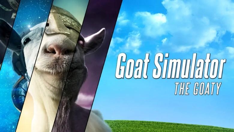 Goat Simulator: The GOATY Key Art
