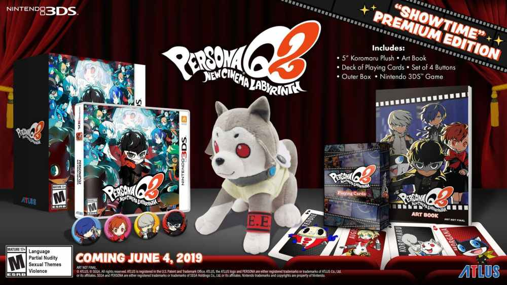 Persona Q2: New Cinema Labyrinth Showtime Premium Edition Photo