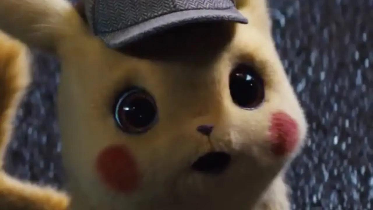 new pok u00e9mon  detective pikachu movie trailer makes a fart