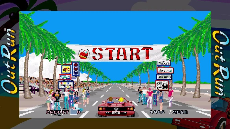 SEGA AGES Out Run Review Screenshot 1