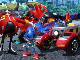 Team Sonic Racing Team Eggman Key Art