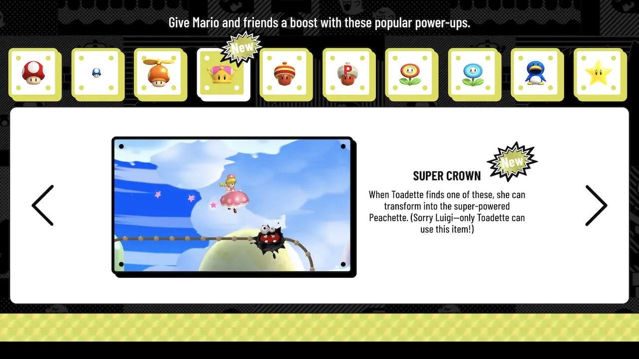 Toadette Super Crown New Super Mario Bros. Deluxe Screenshot