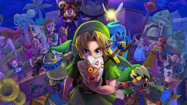 Zelda: Majora's Mask 3D Key Art