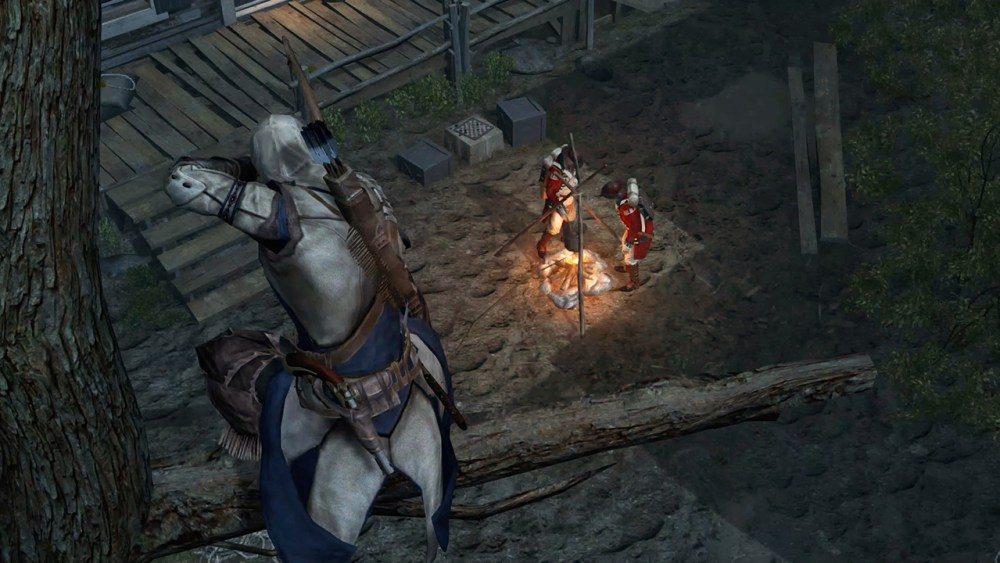 Assassin's Creed III Remastered Switch Screenshot 2
