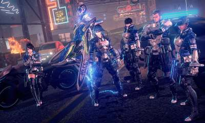 Astral Chain Screenshot