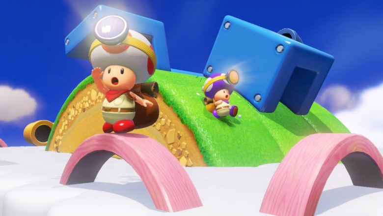 Captain Toad: Treasure Tracker Co-op Screenshot
