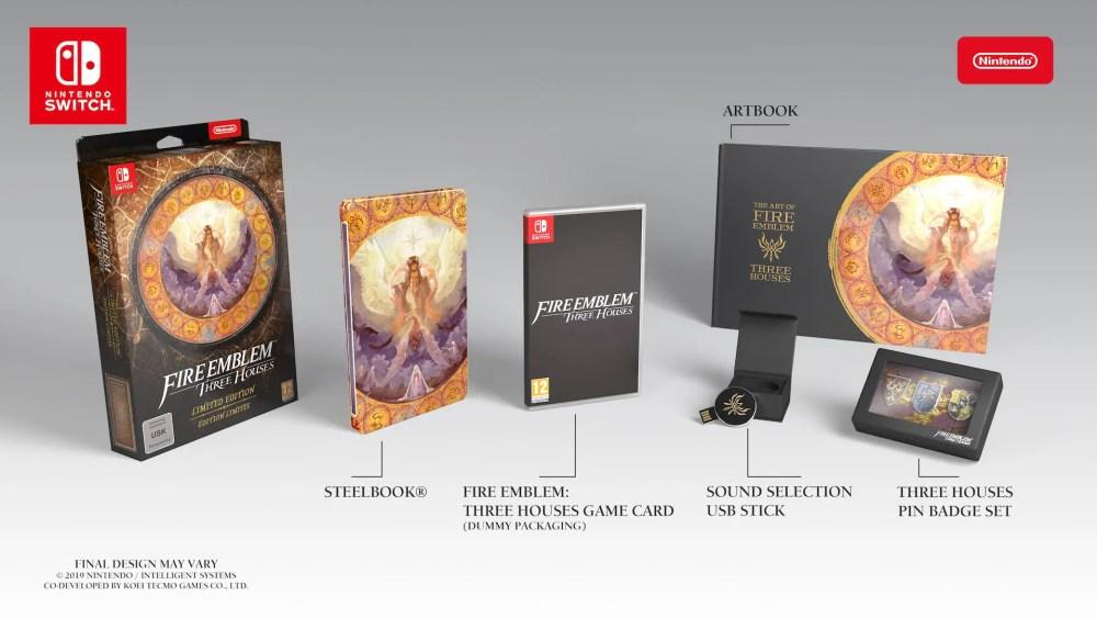 Fire Emblem: Three Houses Limited Edition Box Art