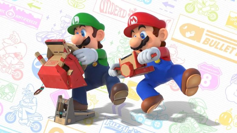 Nintendo Labo VR Mario Kart 8 Deluxe Image