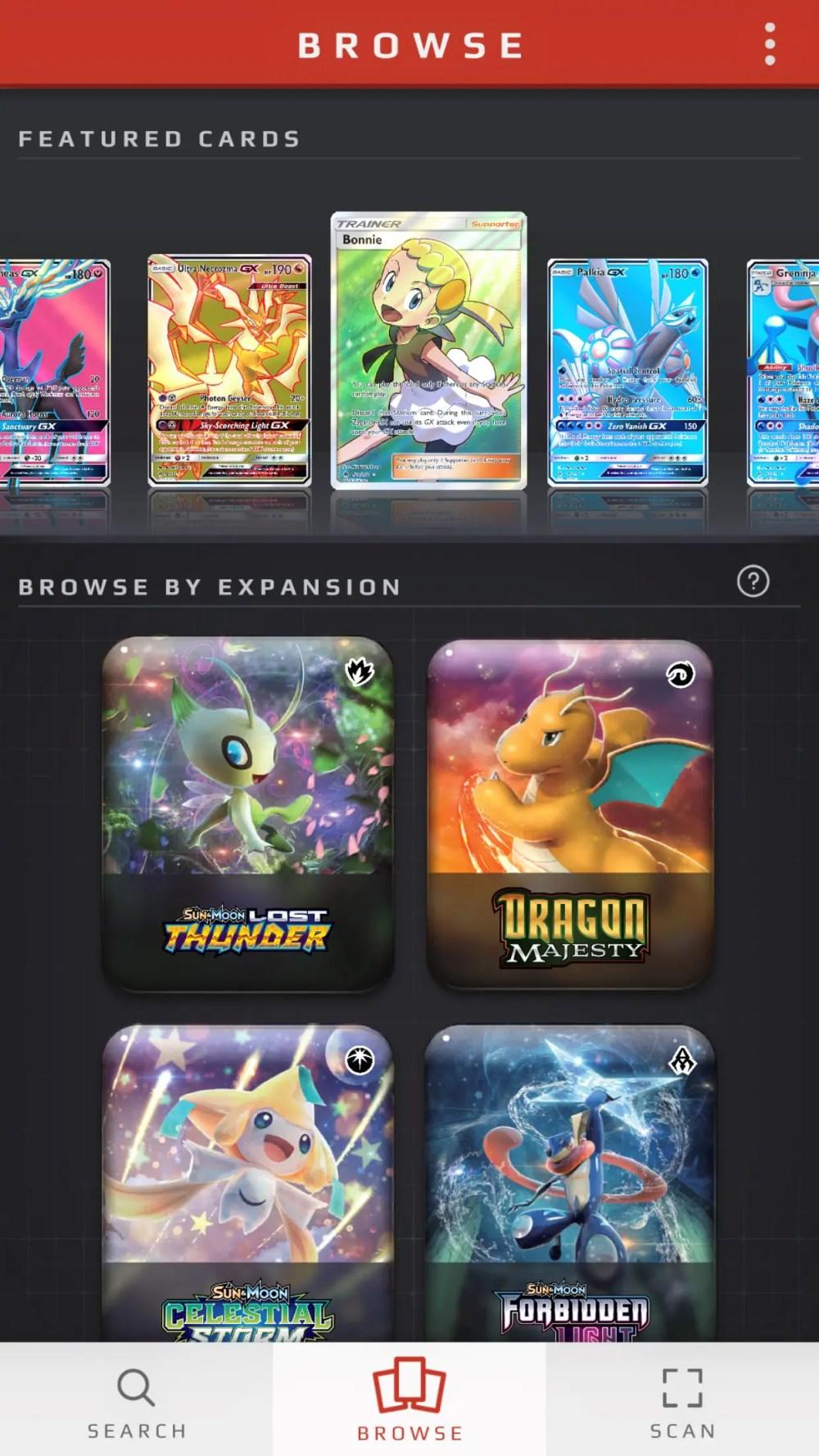 Pokémon TCG Card Dex Screenshot 1