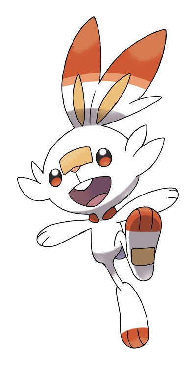 Scorbunny Official Artwork