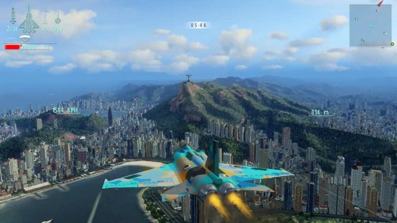 Sky Gamblers: Afterburner Screenshot