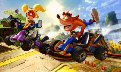 Crash Team Racing Nitro-Fueled Papu's Pyramid Screenshot