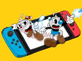 Cuphead Nintendo Switch Artwork