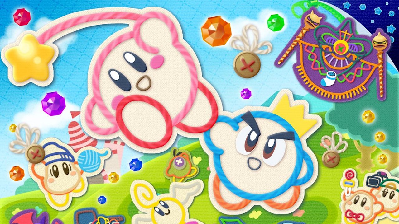 Kirby's Extra Epic Yarn Review Header