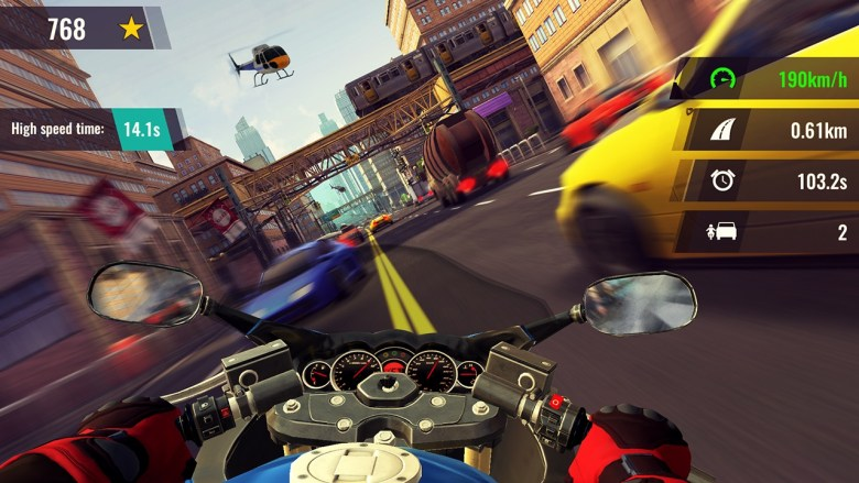 Moto Rush GT Screenshot 2