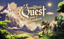 SteamWorld Quest: Hand Of Gilgamech Title Screen