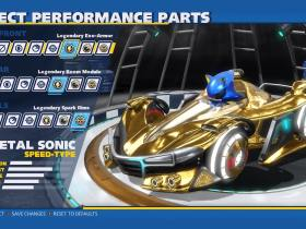 Team Sonic Racing Customization Screenshot